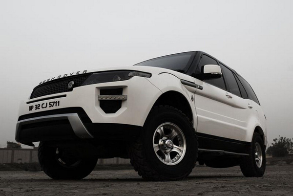 Tata Safari в образе Range Rover Evoque