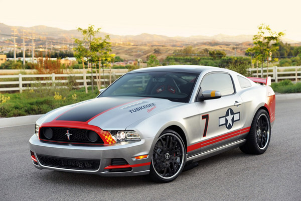 Ford полностью рассекретил Mustang GT Red Tail