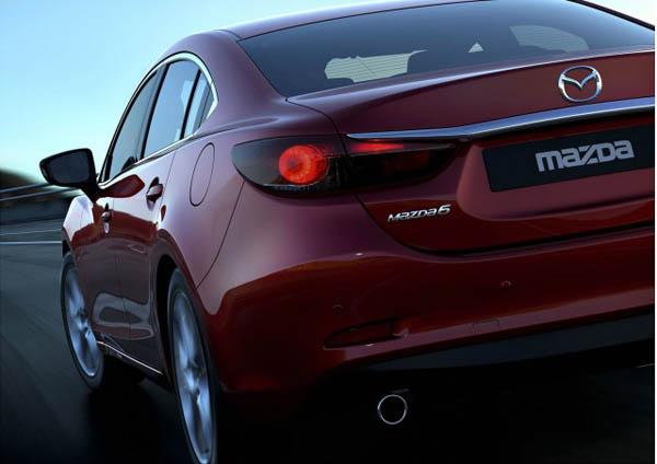 Первые фотографии Mazda 6 2014