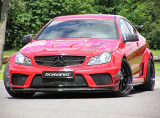 Mercedes C63 AMG Coupe Black Series от Domanig