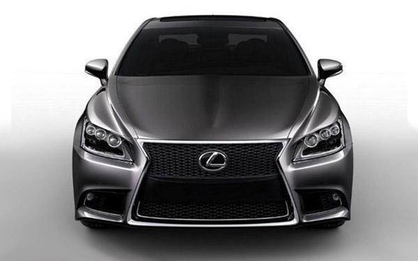 Появились фотографии нового Lexus LS 2013