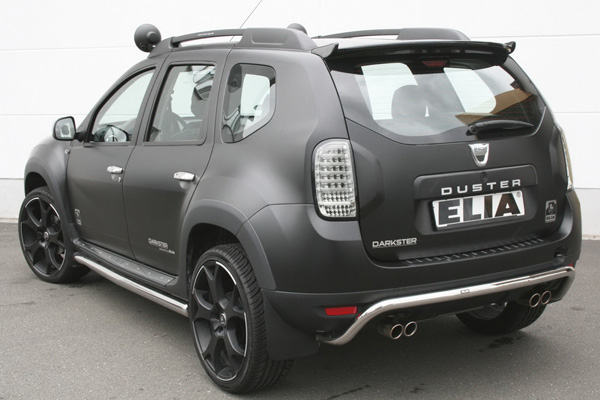 Dacia Duster Color Concept и Darkster от ателье Elia
