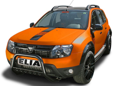 Dacia Duster Color Concept и Darkster от ателье Elia