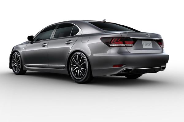 Появились официальные фотографии Lexus LS 2013