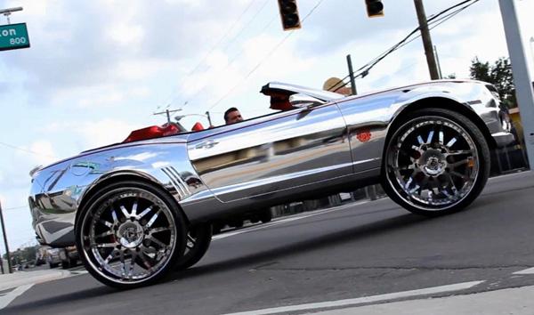 Chevrolet Camaro снабдили 32-дюймовыми дисками