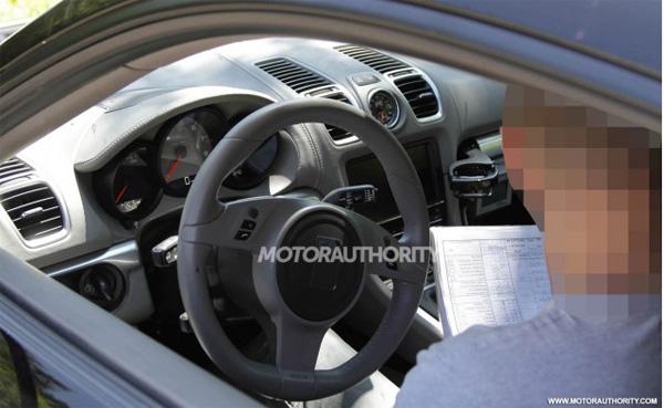 Новые шпионские фотографии Porsche Cayman 2013