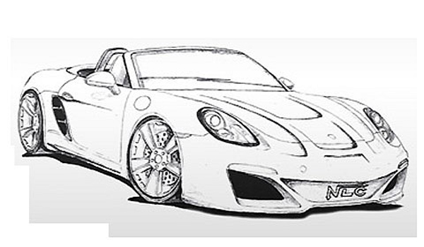 NLC готовит боди-кит для Porsche Boxster