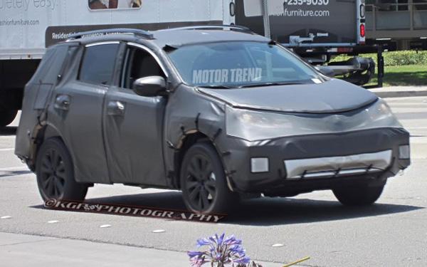 Шпионские фотографии Toyota Rav4 2013