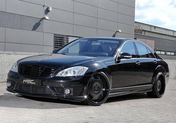 Mercedes-Benz S550 W221 от MEC Design
