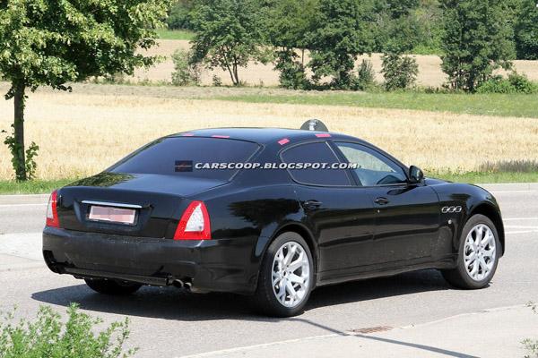 Седан Maserati Levante сфотографирован на тестах