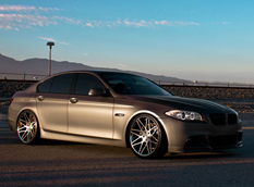 BMW 5-Series F10 от Rennen Forged