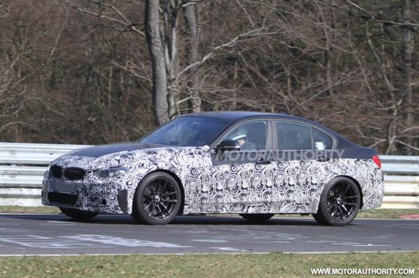 Шпионские фотографии BMW M3 Sedan (F30) 2014