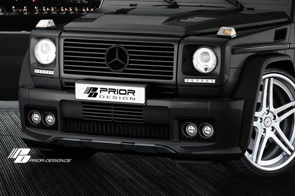 Mercedes G-Class со стайлинг-пакетом Prior Design