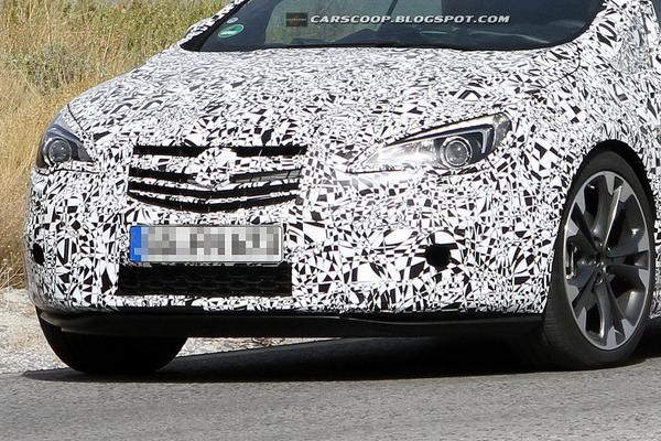 Шпионские снимки нового кабриолета Opel/Vauxhall