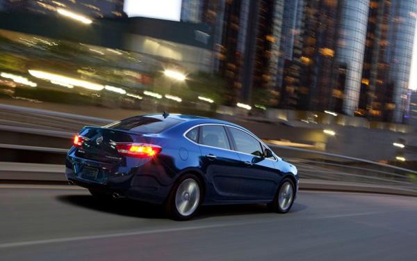 Новые данные о Buick Verano Turbo 2013