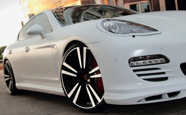 Porsche Panamera White Snow от Anderson Germany