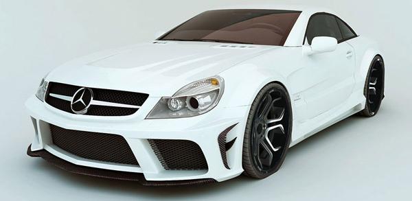 Mercedes-Benz SL R230 от ателье MEC Design