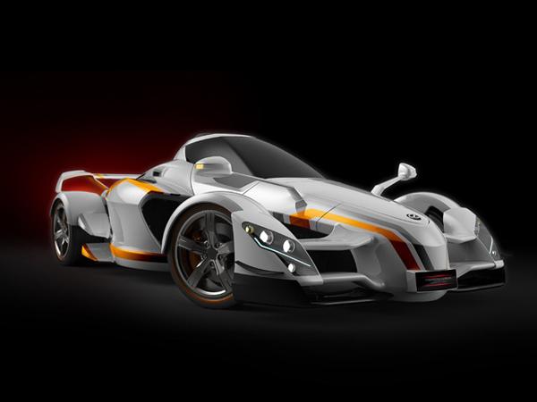 Tramontana построит 888-сильный суперкар XTR