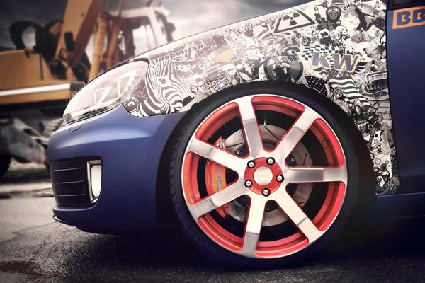 Volkswagen Golf GTI в тюнинге BBM Motorsport