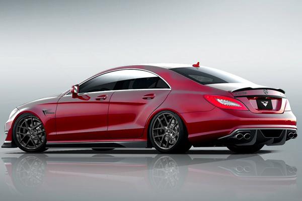 Vorsteiner готовит пакет для Mercedes CLS 63 AMG