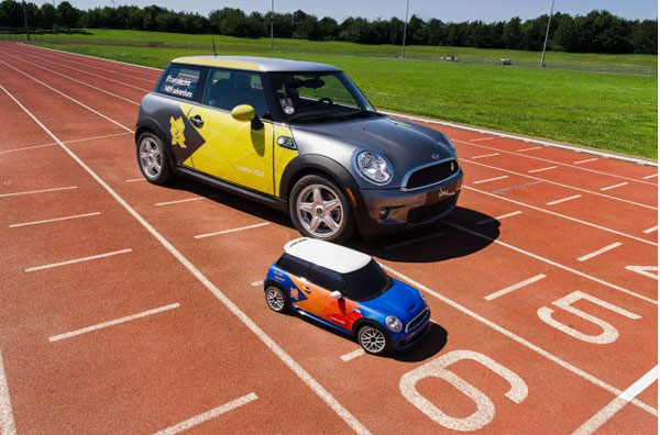 Mini создал электромобиль MINI для Олимпиады