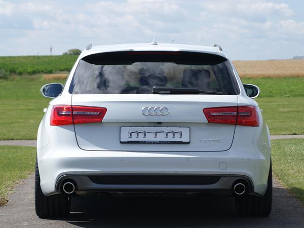 MTM форсировал двигатель Audi A6 3.0 BiTDI