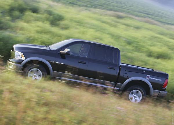Dodge обновит пикап RAM 1500 Outdoorsman 2013