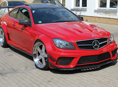 Псевдо Mercedes C63 AMG Black Series от SGA