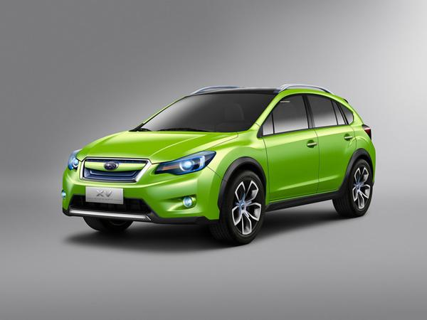 Четыре концептуальные модели Subaru