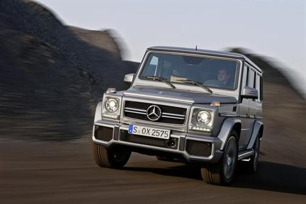 Объявлены цены на новый Mercedes-Benz G-Wagen