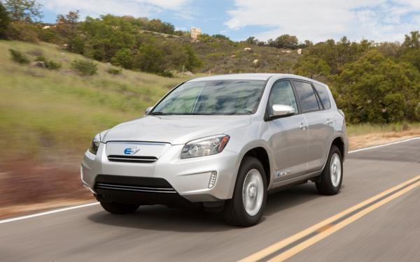Стоимость Toyota RAV4 EV составит 50 000 долларов