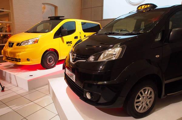 Nissan NV200 заменит классические такси в Лондоне