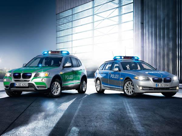 BMW готовит серию полицейских автомобилей