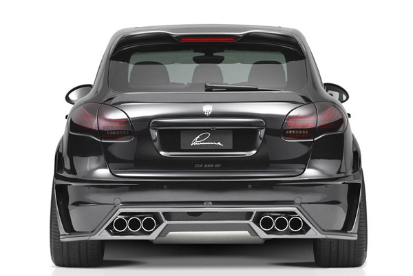 Lumma представила три пакета для Porsche Cayenne
