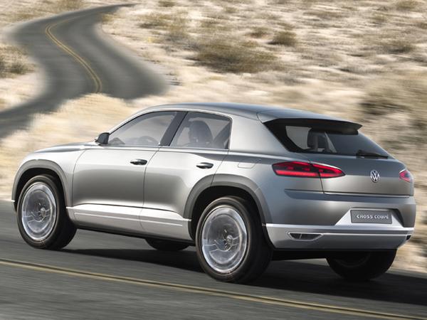 Volkswagen планирует выпустить модель Touareg CC