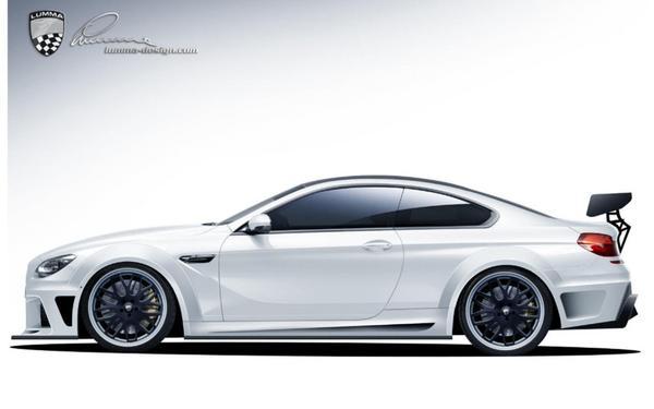Проект боди-кита для BMW M6 от Lumma Design