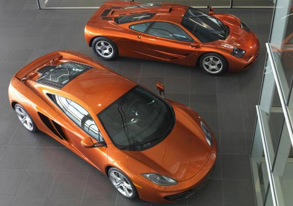 McLaren отказывается от двигателей V12