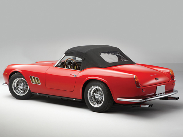 Ferrari 250 GT SWB California Spyder уйдет с молотка