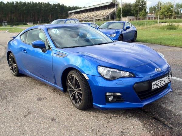 Объявлена рублевая цена Subaru BRZ