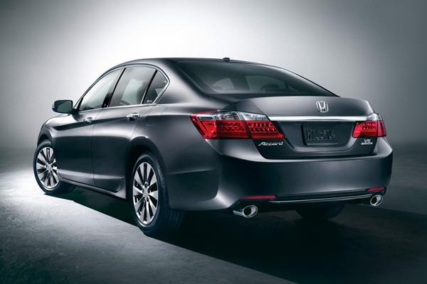 В сети появились первые фото Honda Accord 2013