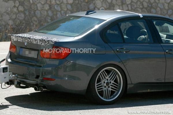 Шпионские фотографии новой модели BMW Alpina B3
