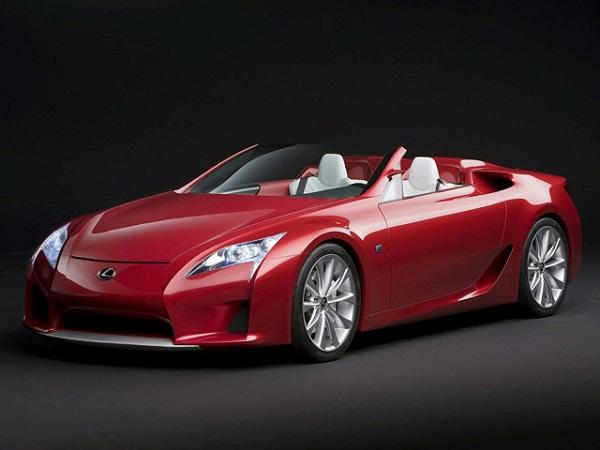 В 2014-м году появится Lexus LFA Roadster