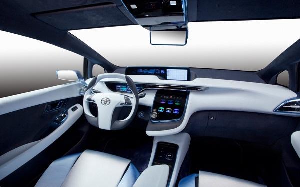 Модели Toyota на водороде появятся в 2015-м году