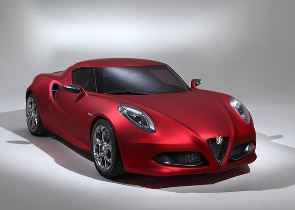 Новые данные о купе и кабриолете Alfa Romeo 4C