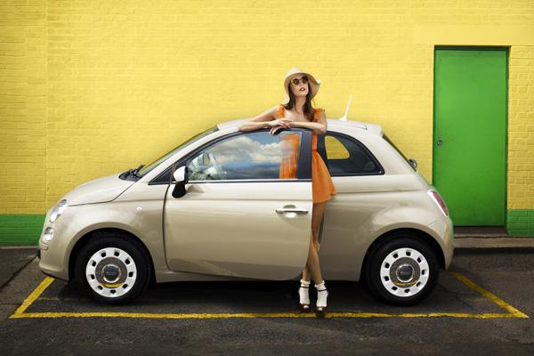 FIAT анонсировал версию 500 Colour Therapy Edition
