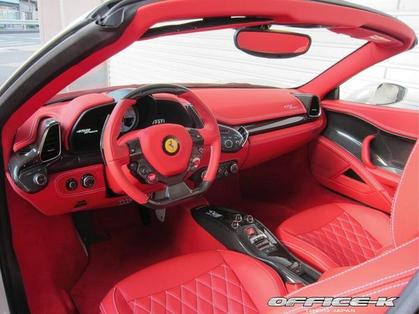 Тюнинг-пакет для Ferrari 458 Spider от Office-K