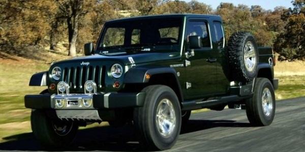 Jeep готовит пикап Wrangler Ute