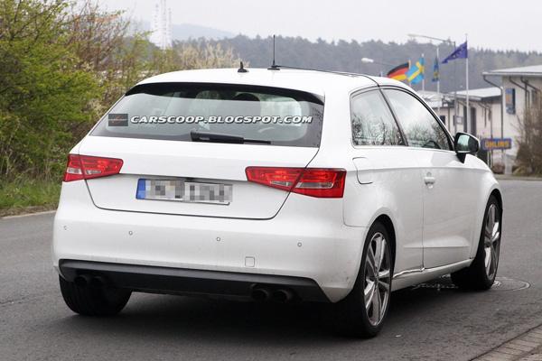 Новый Audi S3 форсируют до 280 лошадей
