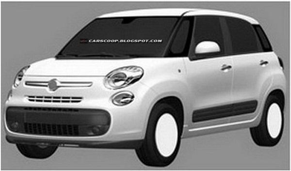 Новые изображения Fiat 500L, 500XL и 500L Trekking