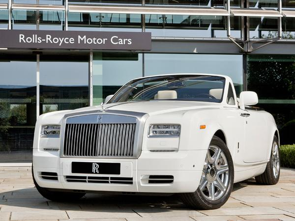 Олимпийские версии Rolls-Royce Phantom Series II